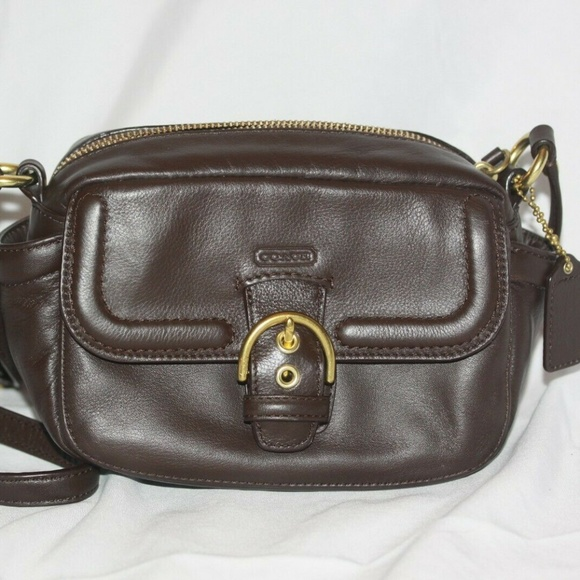 Coach Handbags - Coach 25150 Campbell Small Leather Crossbody Purse